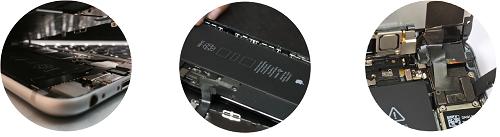 Замена сенсора стекла iPhone 7