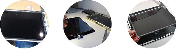 Замена экранов iPad