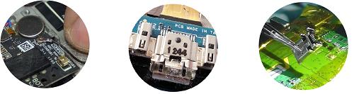 Замена разъема зарядки телефона Asus