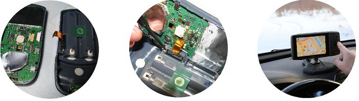 Ремонт GPS навигаторов