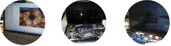 Замена матрицы ноутбука Toshiba