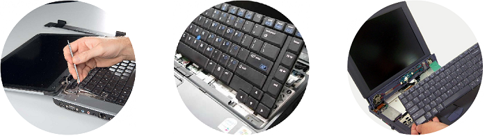 Замена клавиатуры на ноутбуках Toshiba
