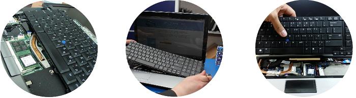 Замена клавиатуры на ноутбуках Dell
