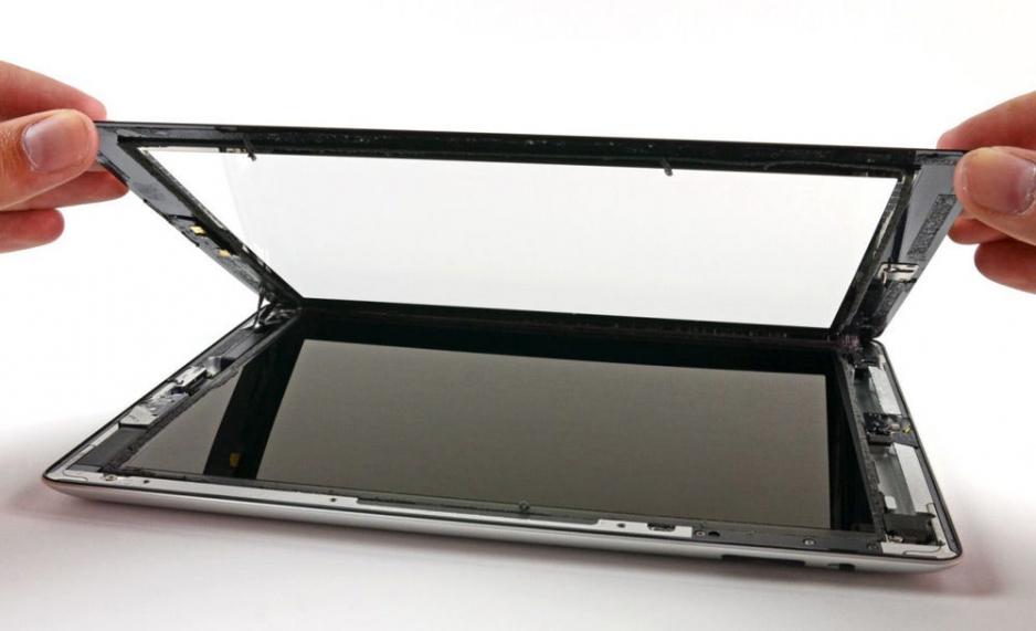 Замена стекла на планшете