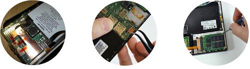 Замена аккумулятора, батарейки мобильной техники
