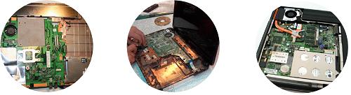 Чистка ноутбука от пыли портативных компьютеров
