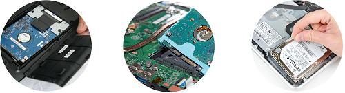 Замена жесткого диска (вентилятора) портативных компьютеров